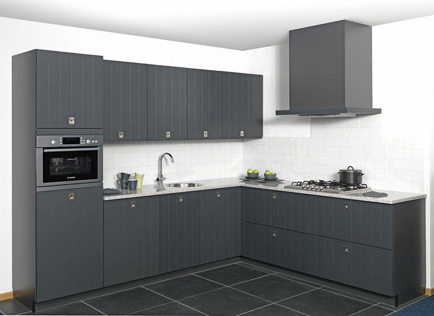 Moderne Keuken Zwart: Ilwa keukens ? moderne zwart wit.