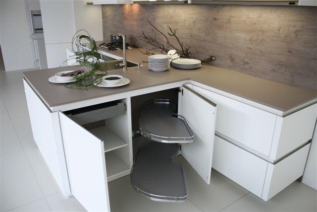 Keuken Wit Greeploos : keukensite van Nederland T – keuken greeploos mat wit (9.3) [48764