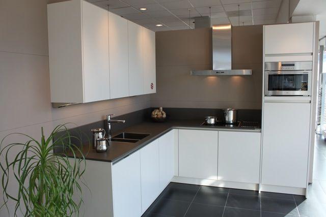 ... : ... keukensite van Nederland SieMatic S2 Magnolia wit [54152