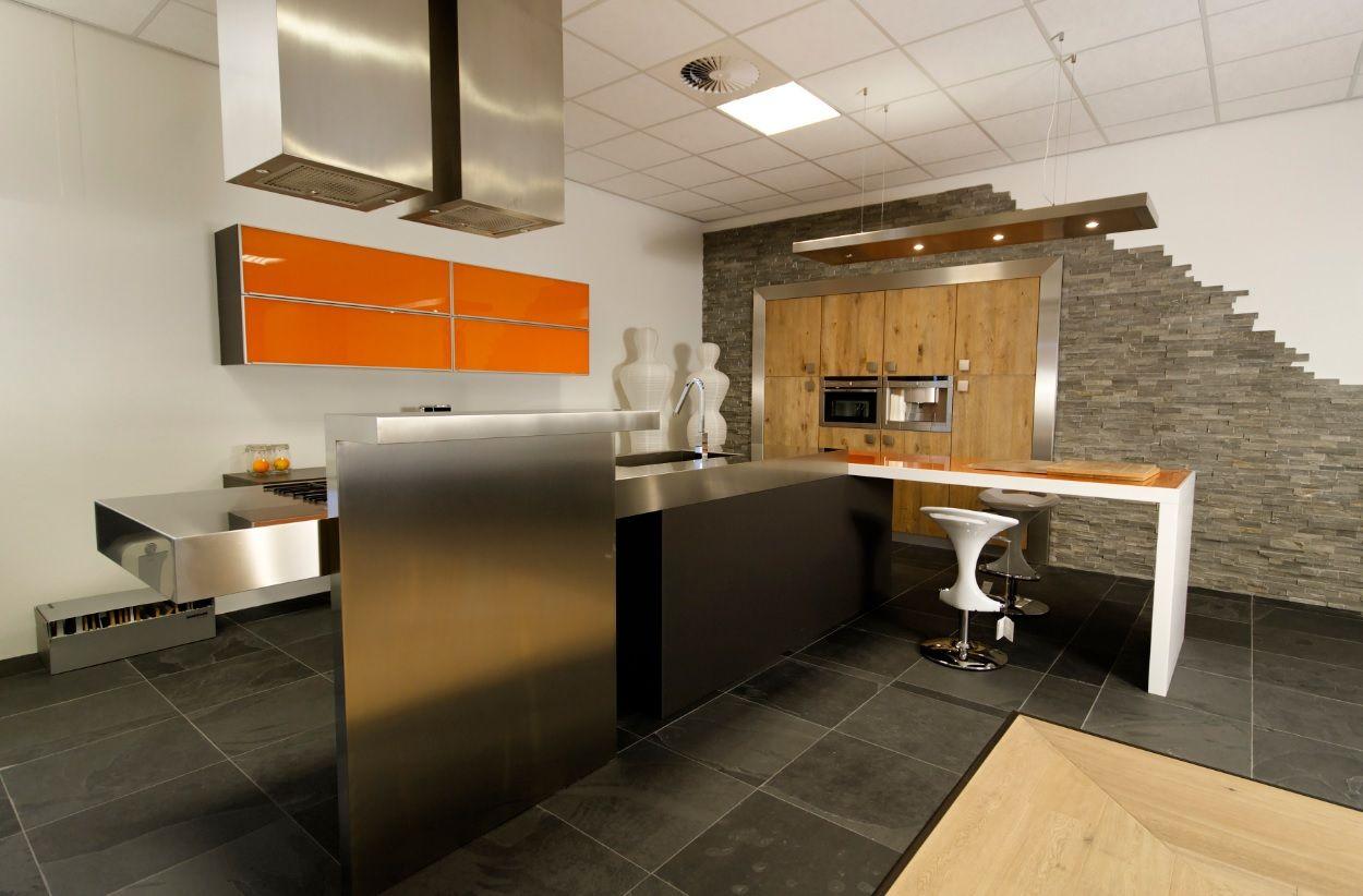 Keuken Met Bar Eiland : van Nederland Bontempi cucine design eiland keuken [54100