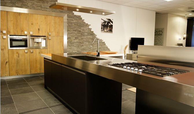 Allergrootste keukensite van nederland bontempi cucine design eiland keuken - Bar design keuken ...