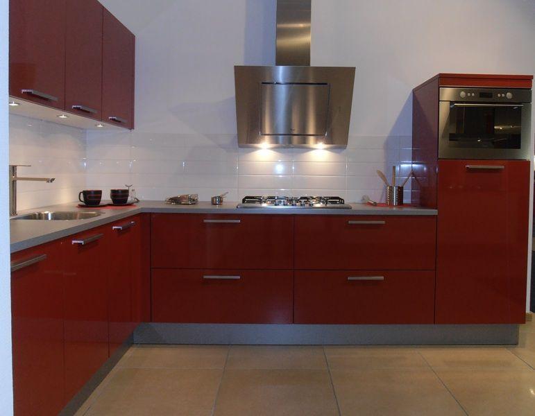 ... keukensite van Nederland Design keuken in hoogglans rood [53949