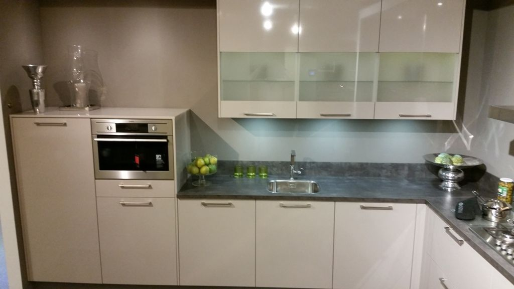 moderne l keuken