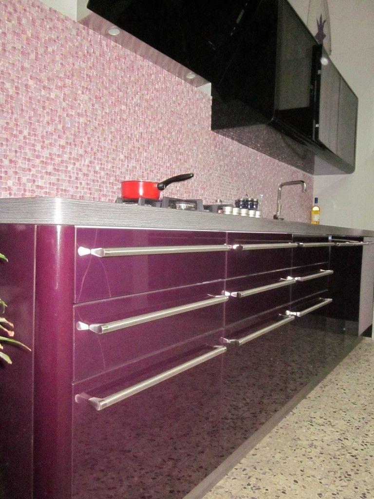 Keuken Zwart Mdf : Allergrootste keukensite van Nederland Nolte Paars keuken [33600