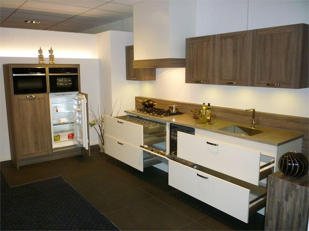 Witte Keukens Met Hout : ... van Nederland hout- look gecombineerd met ...