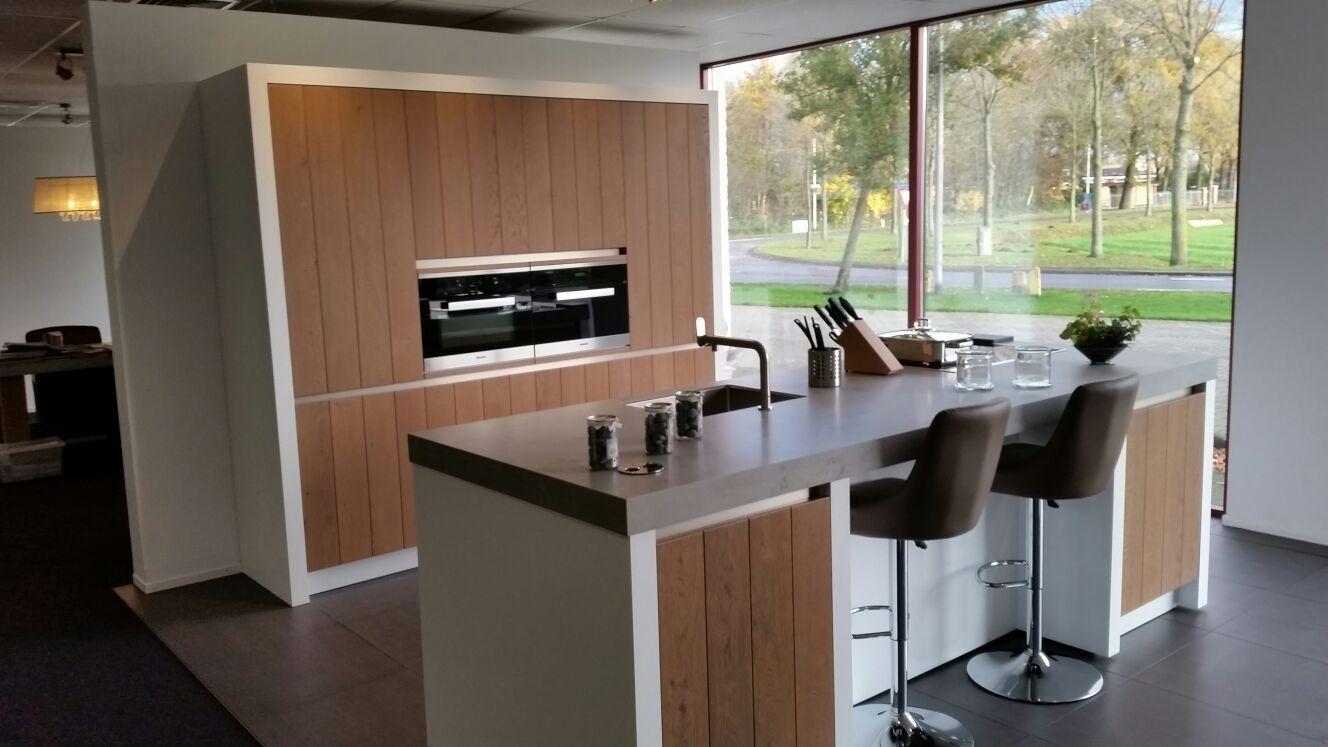 Allergrootste keukensite van nederland massief houten design keuken 57702 - Designer keuken ...